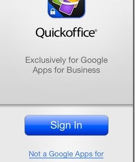 تطبيق Quickoffice